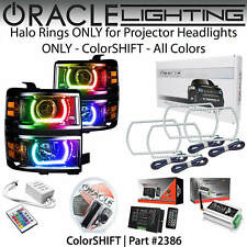 ORACLE Halo Rings Kit for PROJECTOR Headlights for 14-15 Chevy Silverado 1500