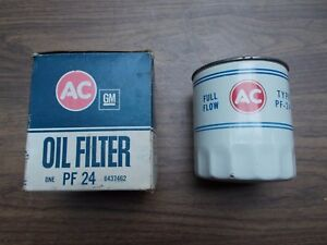 65 66 67 68 69 70 71 72 73 Kaiser Jeep Vintage AC Oil Filter PF24 Mostly White