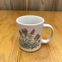 Pink Flowers Collectible Coffee Mug Tea Cup
