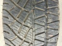 1 x PART WORN MICHELIN LATITUDE CROSS X TYRE 225/55 R17 101H EXTRA LOAD 8MM TYRE