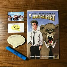 """""""The Office"""" used prop marker +Sticky Quips and Adventures of Jim Halpert comic"""