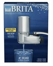 Brita Basic Faucet Mount System NIB Chrome