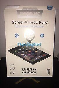 """BodyGuardz ScreenGuardz Tempered Glass Screen Protector iPad Air Air 2 /pro 9.7"""""""