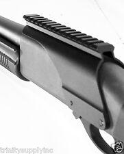 Aluminum Remington 870 12 GA Shotgun Saddle Tactical Scope Sight Rail Mount New.