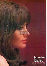 JACQUELINE BISSET / JOANNA SHIMKUS 1973 Vintage Japan Picture Clipping 8x11 md/z