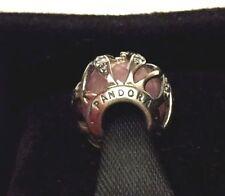 Authentic Pandora Charm Bead Pink Nature's Radiance Encased CZ 791969PCZ