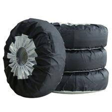 Black Silver 65*37cm  Heavy Duty RV Car Wheel Tire Covers For Car Truck Trailer