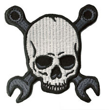 patch badge coat of arms patch Mechanic Skull mechanical Skull thermal adhesive