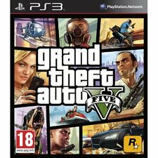Grand Theft Auto V PS3 With Manual And Case Very Good PlayStation 3 2Z