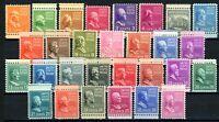 USAstamps Unused VF US Presidential Set Scott 803-831 OG MNH