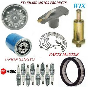 Tune Up Kit Filters Cap Plugs Wire For FORD COUNTRY SQUIRE V8 5.8L; 2Bbl 72-74