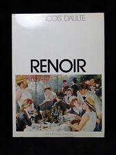 LIVRE LES IMPRESSSIONNISTES RENOIR DE FRANCOIS DAULTE ED PRINCESSE 1974 B1727