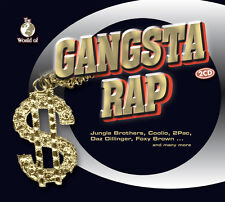 CD Gangsta Rap von Various Artists 2CDs