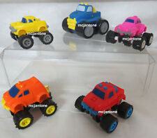 LOOSE SET 4+1 U-3 McDonald's 1991/92 MIGHTY MINI 4x4s VW Toys WIND UP COMPLETE