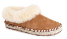 Authentic UGG Women's Wrin Fur-Trim Slippers Size 8
