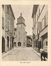 AIGLE SUISSE RUE DU CENTRE IMAGE VERS 1900