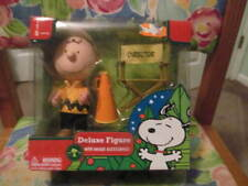 New Peanuts Charlie Brown Deluxe figure with unique accessories