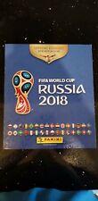 Panini World Cup Russia 2018 Sticker Album - 100% Complete