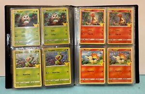 2021 Pokémon Complete Set-50 CARDS HOLO+Non Holo 25th Anniversary! Fast Ship🔥