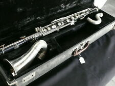 Wurlitzer Bass Clarinet with case. Missing mouthpiece and foot peg.