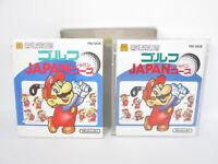 MARIO GOLF JAPAN COURSE Nintendo Famicom Disk System Japan Game dk