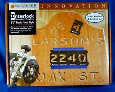 """Rockler 2 1/4"""" Sign Maker's Template 29 Letters & Symbols Kit - Comic Sans Style"""