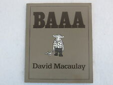David Macaulauy  BAAA  1985 1stEd Softcover Illust'd
