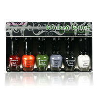 1 Kleancolor Wicked Witch Gothic Nail Lacquer Mini Polish Pedicure NPC595