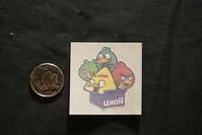 SDCC San Diego Comic Con  2011 ANGRY BIRDS Temporary Tattoo