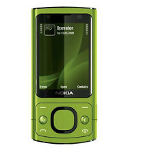 Nokia 6700 Slide - Lime Green (Unlocked) Smartphone