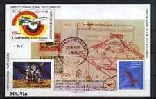 13042/ Bolivien 1980 - Bl. 104 - Luft- u. Raumfahrt  **