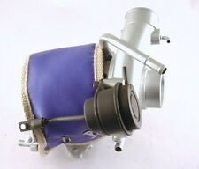 SUBARU IMPREZA LEGACY WRX STI VF22 VF34 TURBO BLANKET HEAT SHIELD BLUE USA MADE