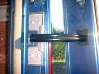 Ford Transit Van Anti Theft Rear Door Loom Guards x2. Protect rear wiring loom