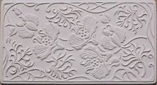 Art Nouveau Texture Tile Mold for Glass Slumping