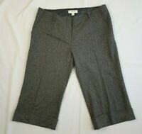 Country Road Grey Wool Mix Office Career Pedal Pusher Pants / Size 12