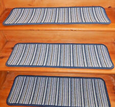 15 = Step 9'' x 30''  Woven Wool  carpet  Backing Jute Stair Treads .