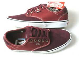 Vans Mens Chima Ferguson Pro Port Royale Rosewood Red Skate shoes Size 9.5 NWT