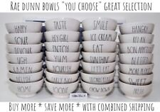"""Rae Dunn """"YOU CHOOSE"""" Bowl CEREAL HOME SWEET  *SAVE ON SHIPPING* NEW HTF '18-19"""