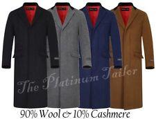 Collared Regular Size Overcoat for Men
