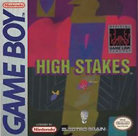 High Stakes Gambling - Nintendo Game Boy GB