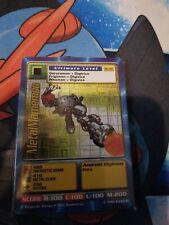 BANDAI DIGIMON 1999 - CARD Bo-65 Metalmamemon