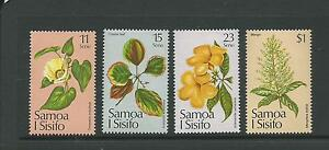 1981 Christmas Flowers Set of 4 Stamps Complete MUH/MNH SG 607 - 610