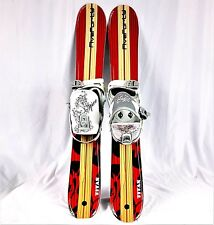 SNOWBLADE PACKAGE, Five-Forty 90cm, Titan, WIDE SKI BLADE, and SPICE Bindings