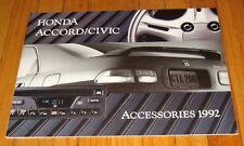 Original 1992 Honda Accord & Civic Accessories Sales Brochure