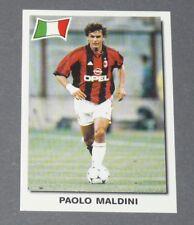 21 PAOLO MALDINI AC MILAN ROSSONERI ITALIE PANINI SUPER FOOTBALL 99 1998-1999