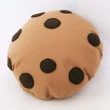 CHOCOLATE CHIP COOKIE CUSHION - BISCUIT PILLOW - KIDS ROOM DECOR - COOKIE GIFT
