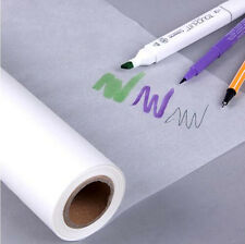 46M*30CM Super Transparent Draft Sketch Butter Paper Tracing Paper Roll White