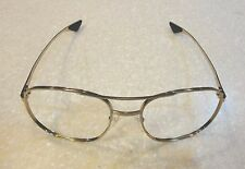 U.S. AIR FORCE ISSUE AIRCREW GOLD EYEGLASS FRAMES - 55 mm LENS SIZE - NEW IN PKG