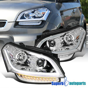 For 2010-2011 Kia Soul Projector HeadlightsTurn Signal Lamp Replacement