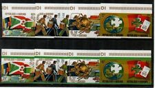 Burundi Scott 460-63,C199-202 Mint NH imperf (Catalog Value $30.00)